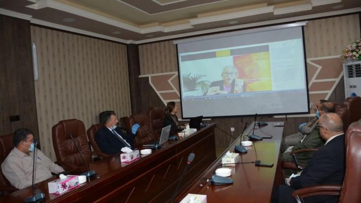 الجامعة التقنية الوسطى تنظم ورشة عمل بعنوان المكتبات الاكاديمية خلال جائحة كوفيد ١٩